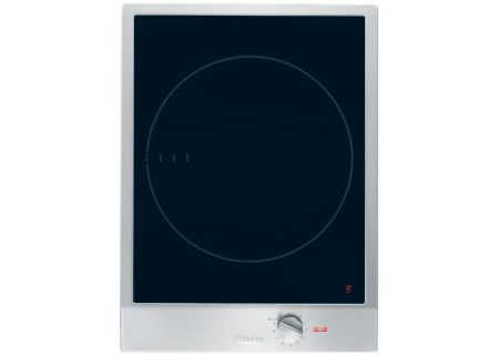 "Miele 15"" Stainless Steel Electric Induction Cooktop - CS1221"