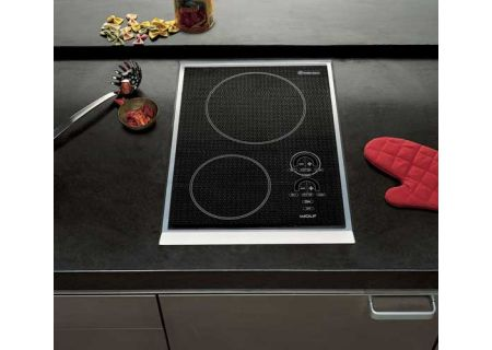 Wolf - CT15E/S - Electric Cooktops