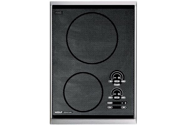 """Large image of Wolf 15"""" Integrated Electric Induction Cooktop - CT15I/S"""