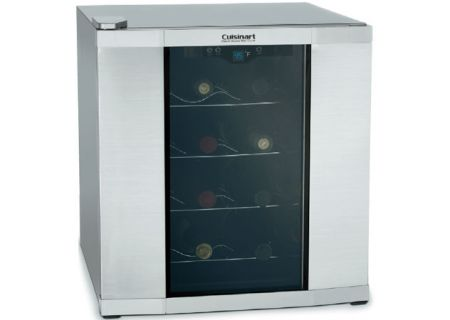 Cuisinart 16-Bottle Stainless Wine Cellar - CWC-1600