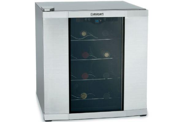 Cuisinart 16-Bottle Stainless Wine Cellar - CWC-1600