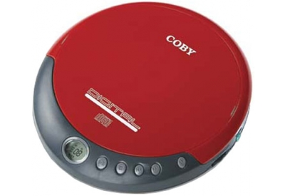 Coby - CX-CD109RED - Personal CD Players