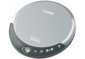 Coby - CX-CD109SILVER - Personal CD Players