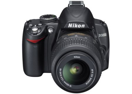 Nikon - D3000KIT - Digital Cameras
