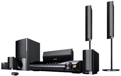 Sony Dav Hdx589w Black 5 1 Channel Bravia Theater System