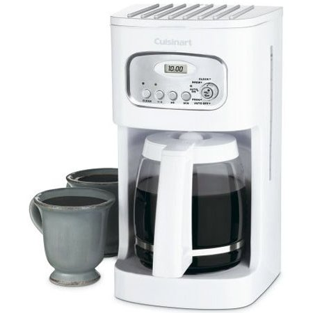 Cuisinart 12-Cup White Coffeemaker - DCC-1100 - Abt