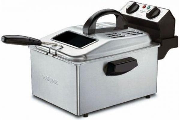 Waring Stainless Steel Professional Deep Fryer - DF250B