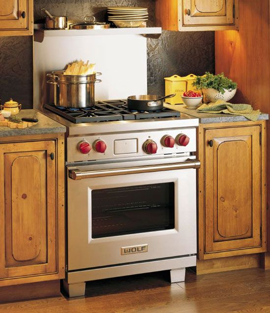 Wolf 30 Quot Dual Fuel Range Stainless Steel Finish Df304