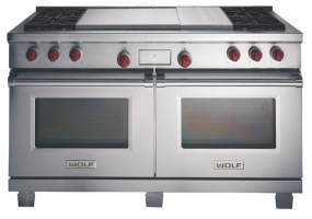 Wolf - DF606DG - Dual Fuel Ranges
