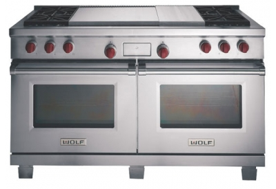 Wolf - DF604GF - Dual Fuel Ranges