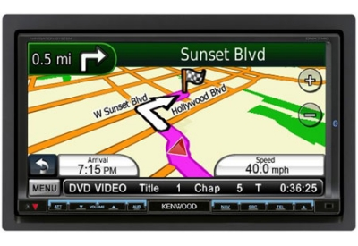 Kenwood - DNX7140 - Portable GPS Navigation