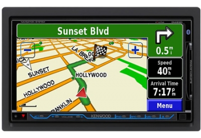 Kenwood - DNX8120 - Portable GPS Navigation