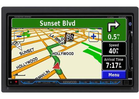Kenwood - DNX8120 - Portable GPS Navigation