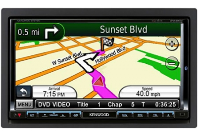 Kenwood - DNX9140 - Portable GPS Navigation