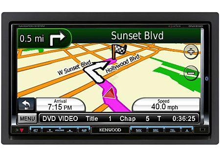 Kenwood - DNX9140 - Portable GPS Navigation