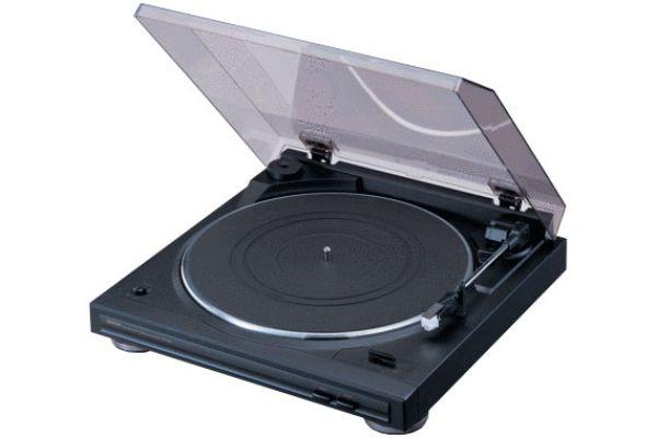 Denon Semi-Automatic Turntable - Black Finish - DP29F