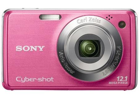 Sony Pink Cyber-Shot Digital Camera - DSC-W220/P