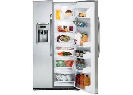 GE - DSHS5PGXSS - Side-by-Side Refrigerators