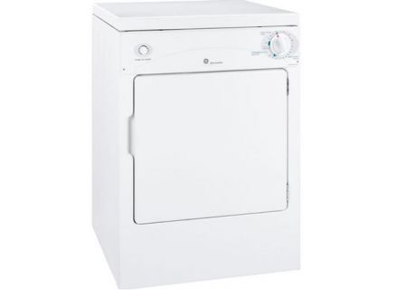 GE Spacemaker Portable Electric Dryer - DSKP333ECW