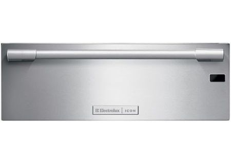 """Electrolux Icon 30"""" Professional Series Stainless Steel Warmer Drawer - E30WD75GPS"""