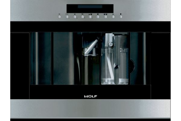 "Large image of Wolf 24"" Stainless Steel Coffee System  - EC24/S"