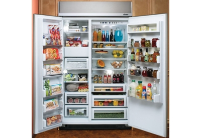 Dacor - EF48DBSS - Built-In Side-By-Side Refrigerators
