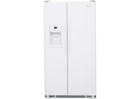 GE - ESH22JFWWW - Side-by-Side Refrigerators