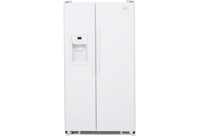 GE - ESH25JFWWW - Side-by-Side Refrigerators