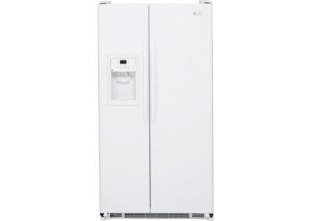 GE - ESH25JFWWW - Side-by-Side Refrigerators