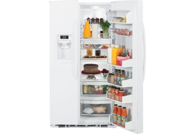 GE - ESHF5MGXWW - Side-by-Side Refrigerators