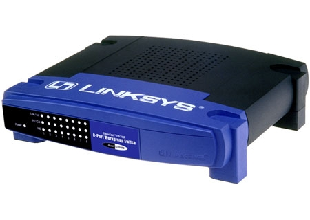 Linksys - EZXS88W - Network Switches