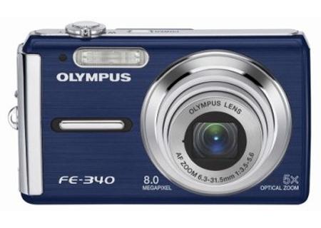 Olympus - FE-340BLU - Digital Cameras
