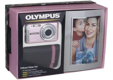 Olympus - FE340DELUXKIT - Digital Cameras