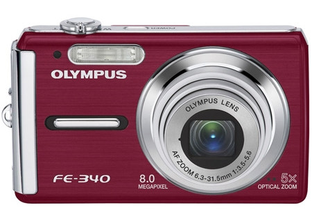 Olympus - FE-340RED - Digital Cameras