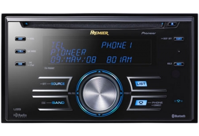 Pioneer - FHP800BT - Car Stereos - Double Din