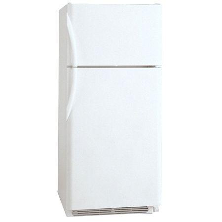 Frigidaire White Top Freezer Refrigerator Frt18hs6jw Abt