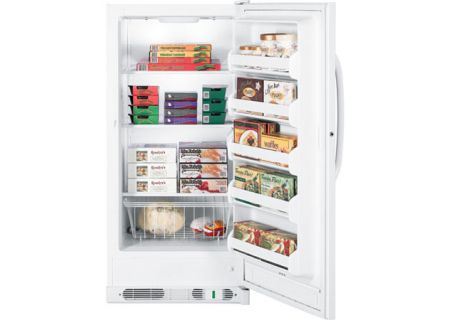 GE - FUM14SVRWW - Upright Freezers