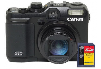 Canon - G10 KIT - Digital Cameras