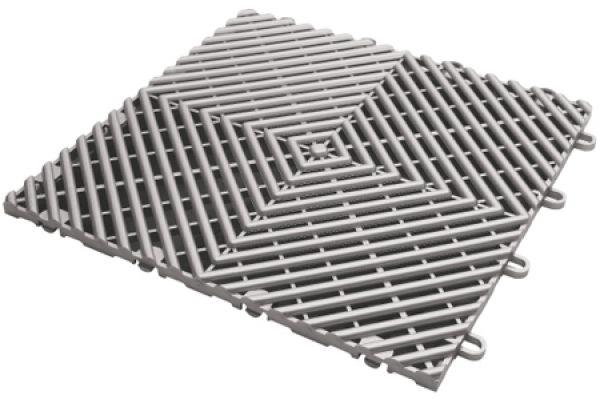 Gladiator Garageworks Silver Drain Tiles - GAFT04DTPS