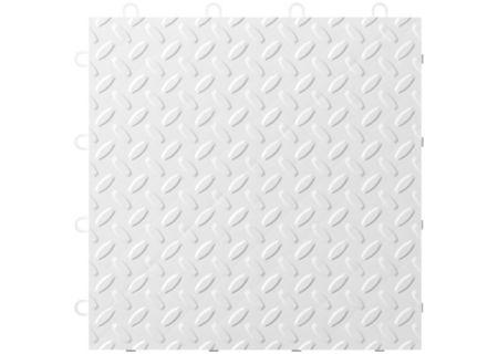 Gladiator Garageworks White Floor Tiles - GAFT24TTTW