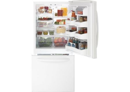 GE - GDSC0KCXWW - Bottom Freezer Refrigerators