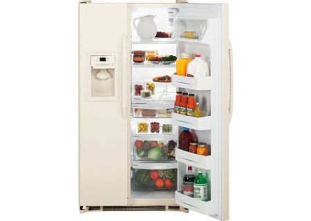 GE - GSH25JFXCC - Side-by-Side Refrigerators