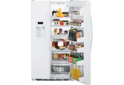 GE - GSHF5KGXWW - Side-by-Side Refrigerators