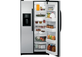 GE - GSL22JFXLB - Side-by-Side Refrigerators