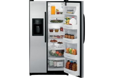 GE - GSL25JFXLB - Side-by-Side Refrigerators
