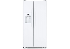 GE - GSS20GEWWW - Side-by-Side Refrigerators