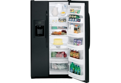GE - GSS25QGTBB - Side-by-Side Refrigerators
