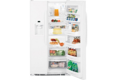 GE - GSS25QGTWW - Side-by-Side Refrigerators