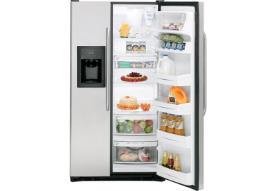 GE - GSS25QSWSS - Side-by-Side Refrigerators