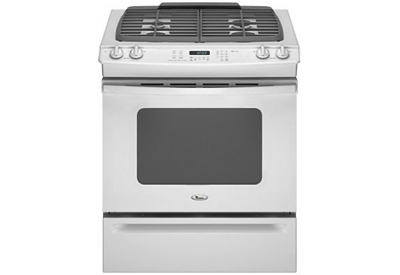 Whirlpool - GW397LXUQ - Slide-In Gas Ranges